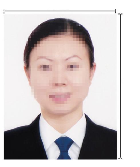 蒙古签证照片模板